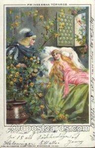 Axel Eliassons No. 251 Artist Signed Jenny Nystrom, 1903 light corner wear, w...