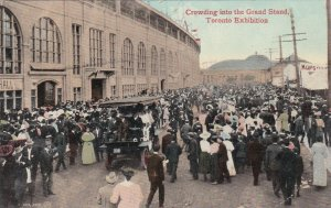TORONTO, Ontario, 00-10s; Crowding Into The Grand Stand, Toronto Exhibition