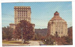 Buncombe County Court House and City Hall, Asheville, North Carolina, 40-60s