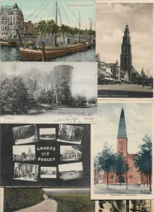 Netherlands Rotterdam, Hoorn, Groningen And More Postcard Lot of 20   01.01