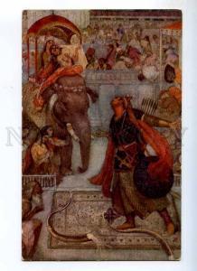 234504 INDIA Hindu Myths ELEPHANT by Evelyn PAUL Vintage PC