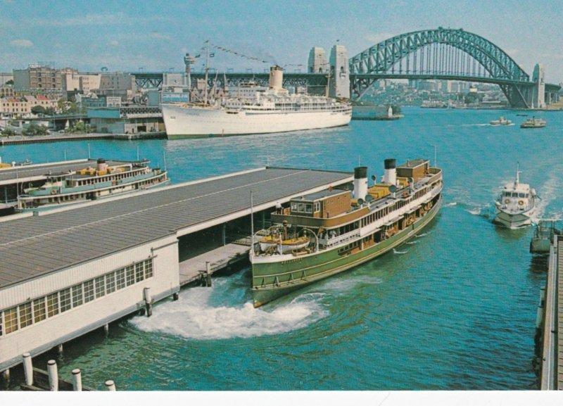 SYDNEY , Australia , 50-60s ; Circular Quay