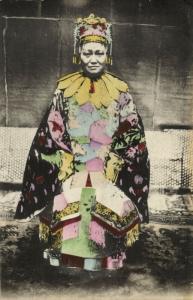 china, Chinese Empress Dowager Cixi (1908) Postcard