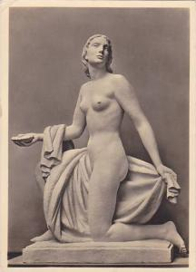RP; German NAZI Era Art, Nude Woman, Paul Scheurle, Najade, Haus der Deutsc...