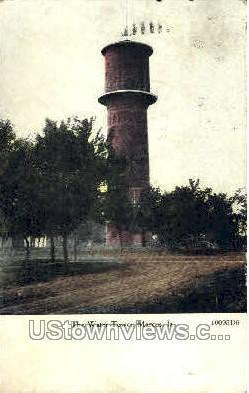 The Water Tower Marcus IA 1908