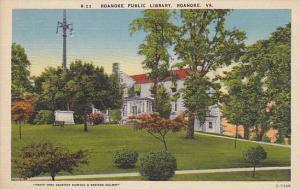 Roanoke Public Library, Roanoke, Virginia, 30-40s
