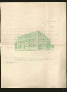 International Harvester Co Boston Mass 1908 Stationary Used PLEASE READ NOTE