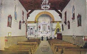 Interior of Church of Guadalupe in Ciudad Jaurez, Mexico, 00-10s