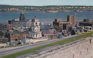 Halifax Harbour from the Citadel, Halifax,  Nova Scotia,  Canada,  40-60s