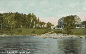 SOUTH BROOKVILLE , Maine , 1900-10s ; Bay View Hotel