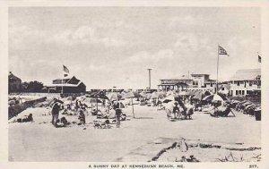 Maine Kennebunk Beach A Sunny Day Albertype