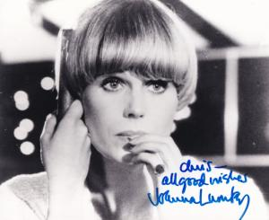 Joanna Lumley James Bond New Avengers 4x Photo 's Incl Hand Signed