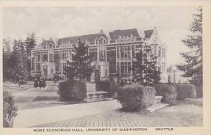 Washington Seattle Home Economics Hall University of Washington Albertype