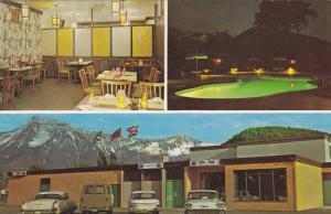 3-Views,  Kent Motor Hotel on the Lougheed Hwy.,  Agassiz,  B.C.,   Canada,  ...
