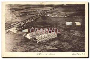 Old Postcard Jet Aviation Orly L & # 39aerodrome