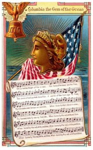 Columbia the Gem of the Ocean , Song , 1776 Liberty