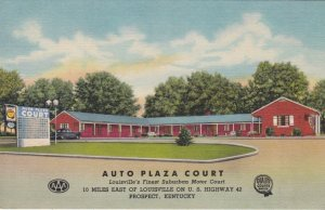 Kentucky Prospect Auto Plaza Court Curteich sk2158