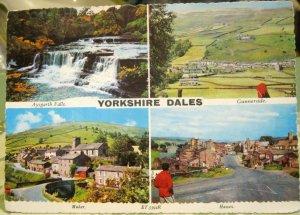 England Yorkshire Dales Aysgarth Falls Gunnerside Muker Hawes - posted 1977