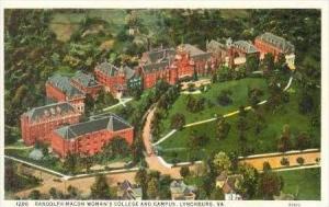 Randolph-Macon Woman's College, Lynchburg, Virginia, 1910s