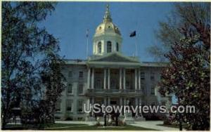 State House Concord NH Unused