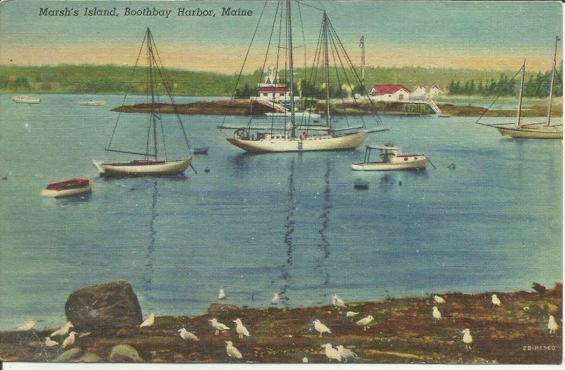 Marsh's Island, Boothbay Harbor, Maine