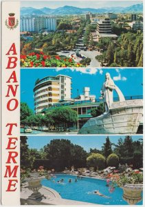 ABANO TERME, Italy, 1990 used Postcard