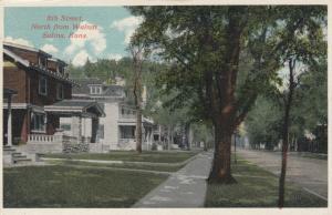 SALINA , Kansas; 1910-20s; Homes on 8th Street