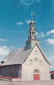 Church of St. Francois, Isle of Orleans, Quebec, Canada, 40-60s