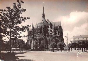 Abside de la Cathedrale et le clocher al'Ange Reims France Unused