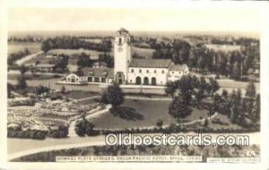 Union Pacific Depot, Boise, ID, Idaho, USA Depot Postcard, Railroad Post Card...