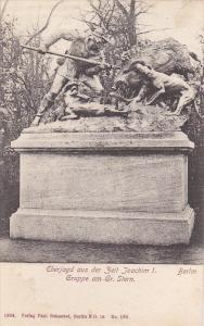 Eberjagd Aus Der Zeit Joachim I. Gruppe Am Gr. Stern, BERLIN, Germany, 1900-1...