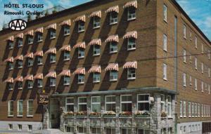 RIMOUSKI, Quebec, Canada, PU-1984; H/Motel St. Louis