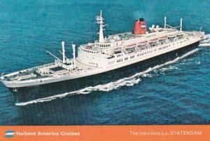 Holland America Cruises S S Statendam