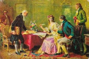 The Marriage Contract 1789 Jefferson's Daughter Signing It