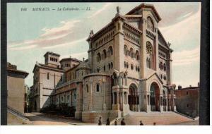 MONACO, 1900-1910's; La Cathedrale