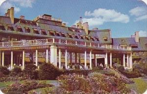 Pennsylvania Skytop South Terrace And Flower Gardens Skytop Club