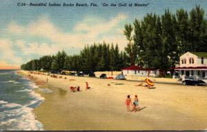 Florida Indian Rocks Beach 1955 Curteich