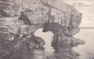 Maine Mount Desert Island Star Crevice Albertype