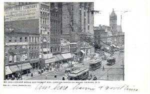 New Jersey Newark   Corner Broad and Market Streets
