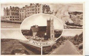 Kent Postcard - Views of Hythe - Ref 1504A