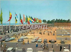 Postcard Modern Cotonou Palace of the Presidency of the Republic of Dahomey S...