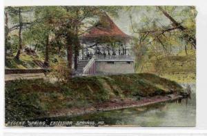 Regent Spring, Excelsior Springs, Missouri, PU-1912