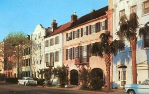 SC - Charleston, Rainbow Row