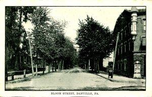 PA - Danville. Bloom Street