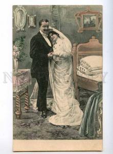 244156 After WEDDINNG Fashion DRESS Bedroom Vintage PHOTO PC1