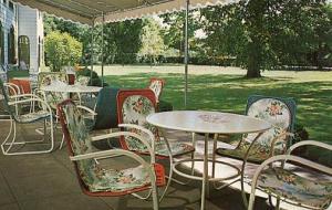 NY - Westhampton Beach, Long Island. Howell House, The Terrace