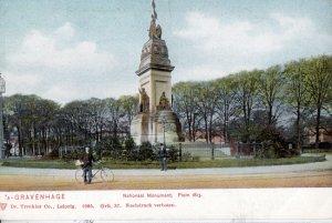 THE HAGUE - GRAVENHAGE Holland / National Monument 1910s / Plein 1813
