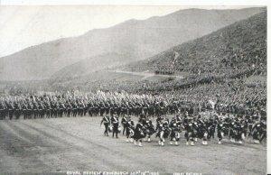 Scotland Postcard - Royal Review Edinburgh Sept 18th 1905 -   MB1425