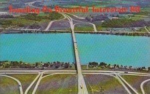 Iowa Traveling On Beautiful Interstate 80