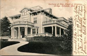 Hillsdale Michigan~Hillsdale College~President Mauck Mansion~Residence~1907 PC
